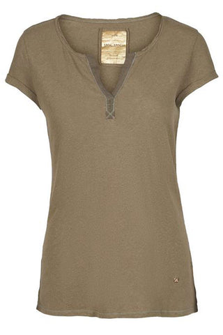 T-shirt - Troy Tee SS (Army)