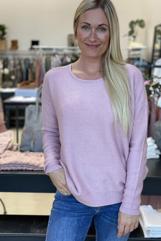 Aia knit | Rosa | Blød strik sweater fra Prepair