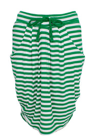 It's my life skirt | Green Stripe | Blød nederdel fra Comfy Copenhagen