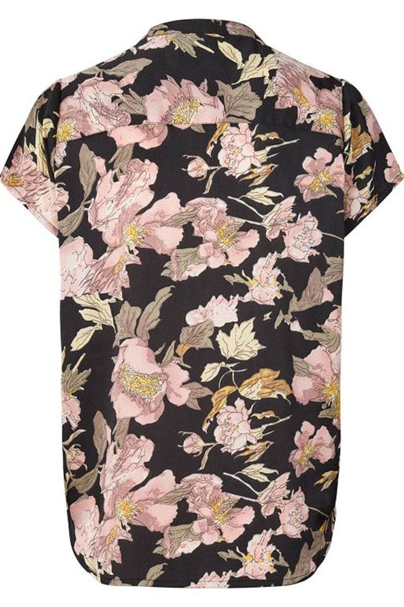HEATHER | Flower print | Skjorte fra LOLLYS LAUNDRY