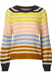 Lana jumper | Multi | Strik jumper fra Lollys Laundry