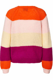 Lana jumper | Orange | Strik jumper fra Lollys Laundry