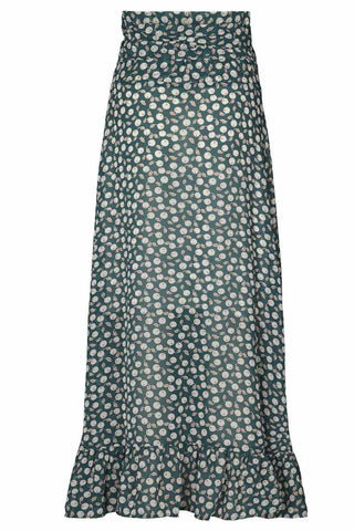 AMBY SKIRT | Dark Green | Nederdel fra LOLLY'S LAUNDRY