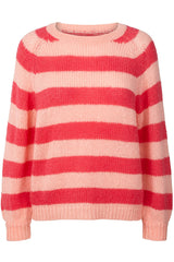 LANA JUMPER | Pink | Pink sweater fra LOLLYS LAUNDRY