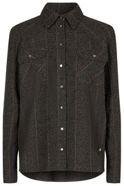 Billy Boucle Shirt | Chocolate Chip | Skjorte fra Mos Mosh