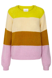 Lana Jumper | Neon Yellow | Sweater fra Lollys Laundry