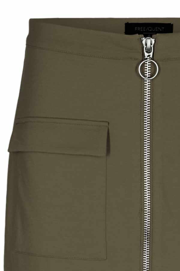 Marly skirt | Dusty olive | Nederdel fra Freequent