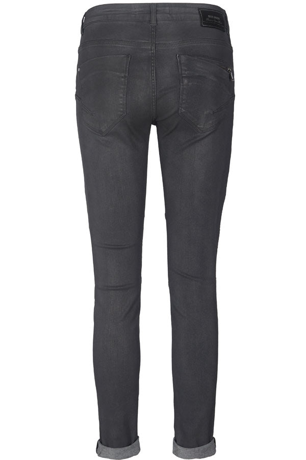 OZZY COATED PANT | Grey Army | Bukser fra MOS MOSH