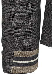 BLAKE HOLLY BLAZER | Grey check | Ternet blazer fra MOS MOSH