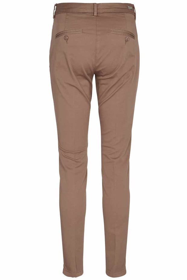 Abbey Chino Pant | Camel | Chinos fra Mos Mosh