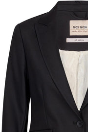 Blake Night Blazer Sustainable | Black | Blazer fra Mos Mosh
