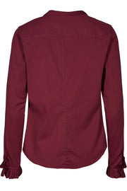 Mattie Shirt | Courage Red | Skjorte fra Mos Mosh