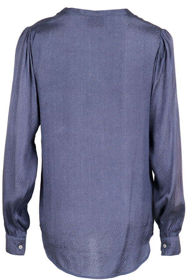Julie Jacquard Shirt | Dusty blue | Skjorte fra Neo Noir