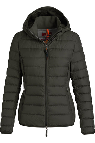 JULIET SUPER LIGHT WEIGHT | Bush | Dunjakke med hætte fra PARAJUMPERS