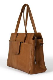 Evia Urban Bag Large | Burned Tan | Taske fra Re:Designed