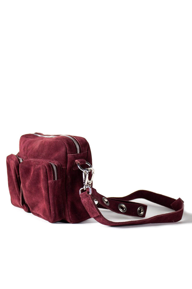 ARYA SUEDE SMALL | Bordeaux | Taske fra RE:DESIGNED