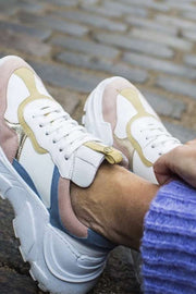 Candy Sneaks | Rosa Yellow | Sneakers fra Copenhagen Shoes