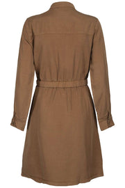 Lisia Dress | Brown | Kjole fra Sofie Schnoor