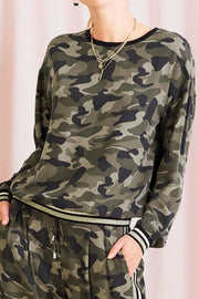 CAMO T1281 | Army | Camouflage bluse fra SAINT TROPEZ