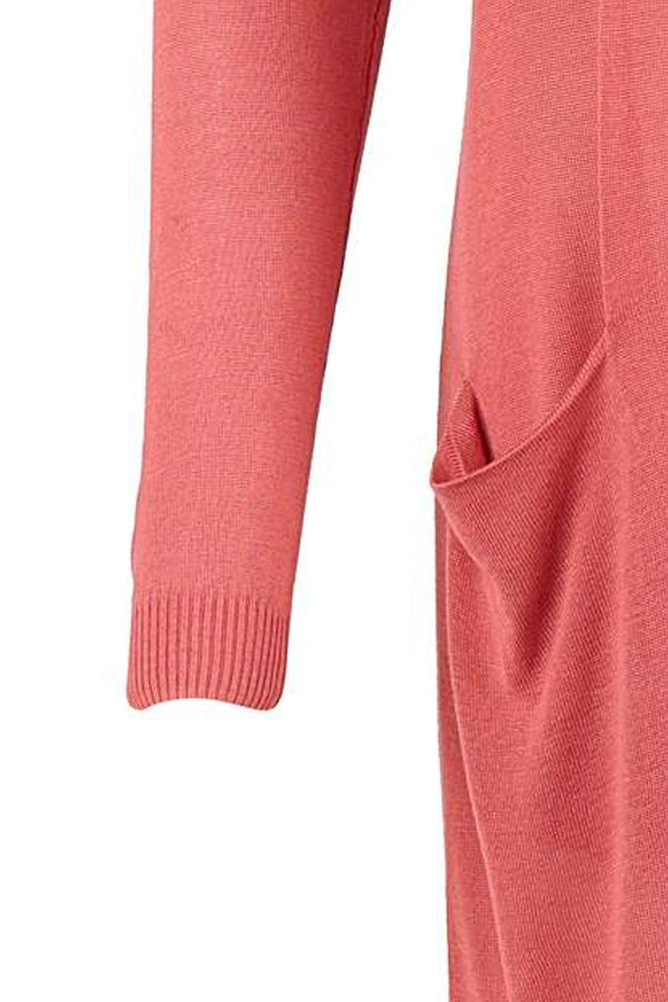 LONG SUMMER CARDIGAN | Fade Rose | Lang cardigan fra SAINT TROPEZ