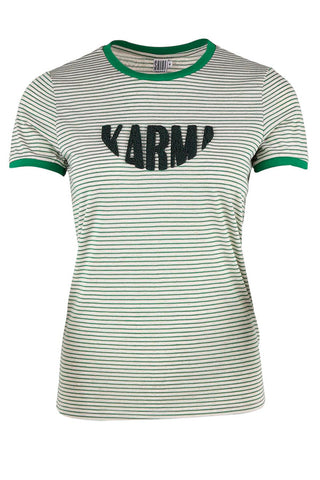 KARMA TEE | Meadow | Stribet t-shirt fra SAINT TROPEZ