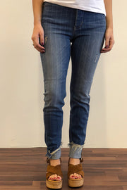 Sky je Stripe | Medium Blå | Jeans fra Cph Muse