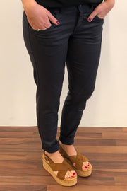 DEBBIE JE YOKE | Navy | Coated jeans fra CPH MUSE