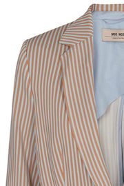 Cobb Rale Blazer | Light Blue Stripe | Blazer fra Mos Mosh