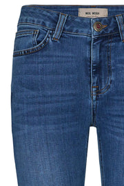 Alli core luxe jeans | Blue | Jeans fra Mos Mosh