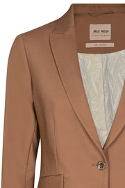 Blake Night Blazer Sustainable | Toasted Coconut | Blazer fra Mos Mosh