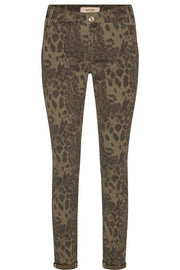 Etta Animal Pant (Regular) | Army | Bukser fra Mos Mosh