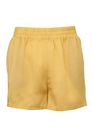 SAM SOLID SHORTS | Yellow | Gule shorts fra NEO NOIR