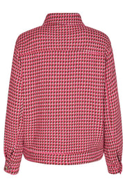 Rosalie Flashy Boucle Jacket | Flash Pink | Boucle jakke fra Co'Couture
