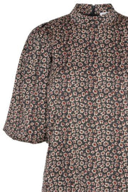Fox Flower Blouse | Black | Bluse fra Co'couture