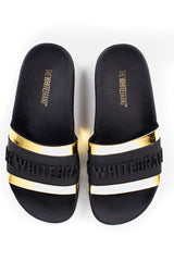 TWB RELIEF GOLD | Guld |  Slippers fra THE WHITE BRAND