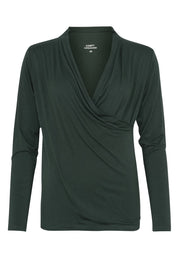 Comfy Copenhagen ApS The Best Blouse Pine Grove