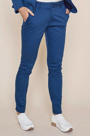 Abbey Cole Pants | Dark blue | Bukser fra Mos Mosh