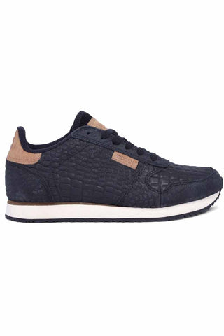 YDUN CROCO | Sort | Sneakers fra WODEN