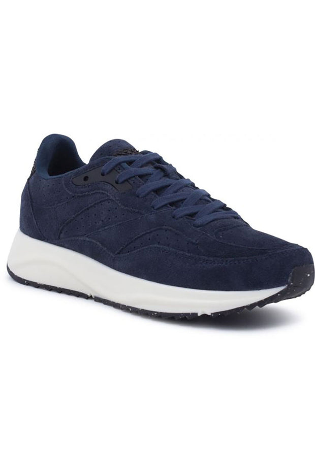 Sophie Suede | Navy | Ruskinds sneakers fra Woden