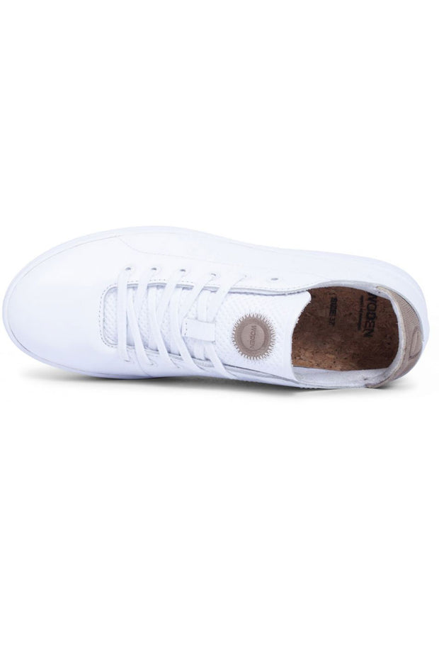JANE LEATHER | Bright white | Sneakers fra WODEN
