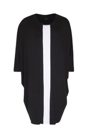 Comfy Copenhagen ApS Higher Love Dress Black / White