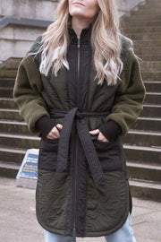 Atomic Teddy Jacket | Army | Jakke fra Neo Noir