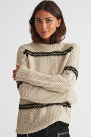 Iris Pullover | Birch & Black  | Pullover fra Freequent