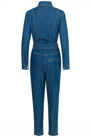 Miana976 Lincoln Pant | Dark Blue Vintage | Buksedragt fra Global Funk