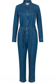 Lincoln jumpsuit | Dark Blue Vintage | Buksedragt fra Global Funk