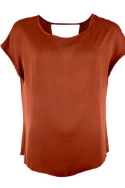 Hanna top | Mocha | Sød top fra Black Colour