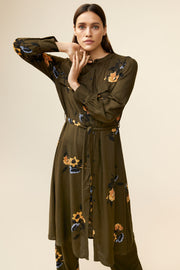 Hoxi dress | Army | Kjole fra Freequent