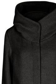 Dicte Jacket | Sort | Uld jakke fra Freequent