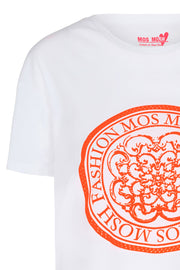 Kerry neon tee | Neon orange | T-shirt fra Mos Mosh