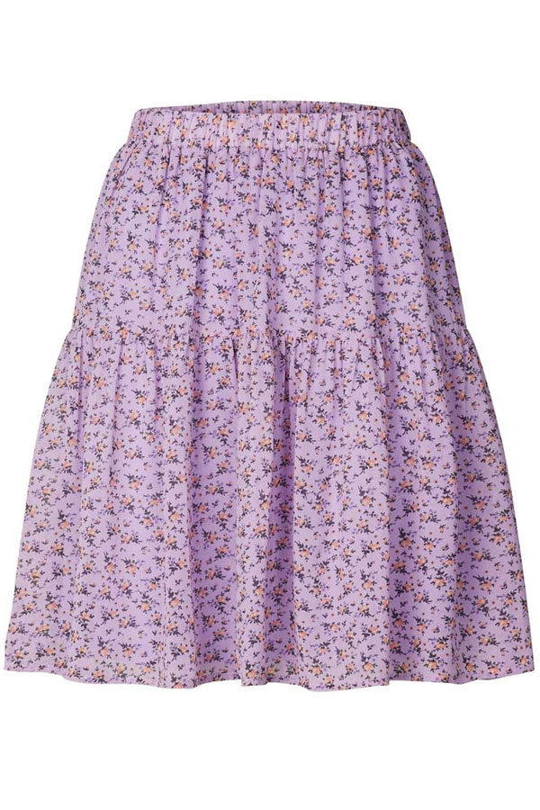 Evening skirt I Lavendel I Nederdel fra LOLLYS LAUNDRY